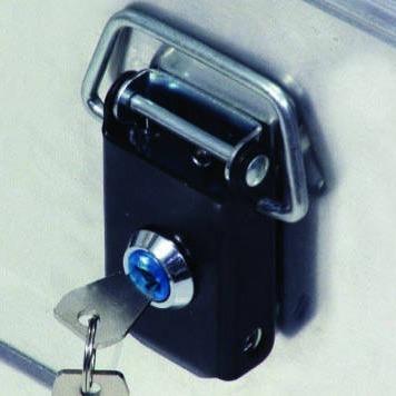 Alu box Låssett 2 låser