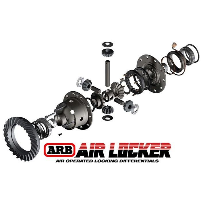 ARB Airlocker luftstyrt diffrensialsperre