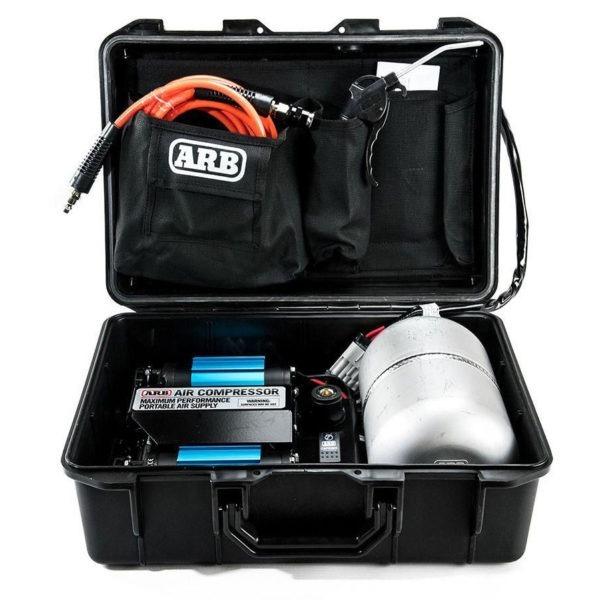 ARB bærbar luftkompressor twin