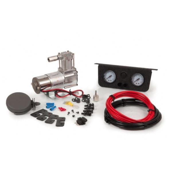 Drive Rite Universalkompressor med måler og brytere
