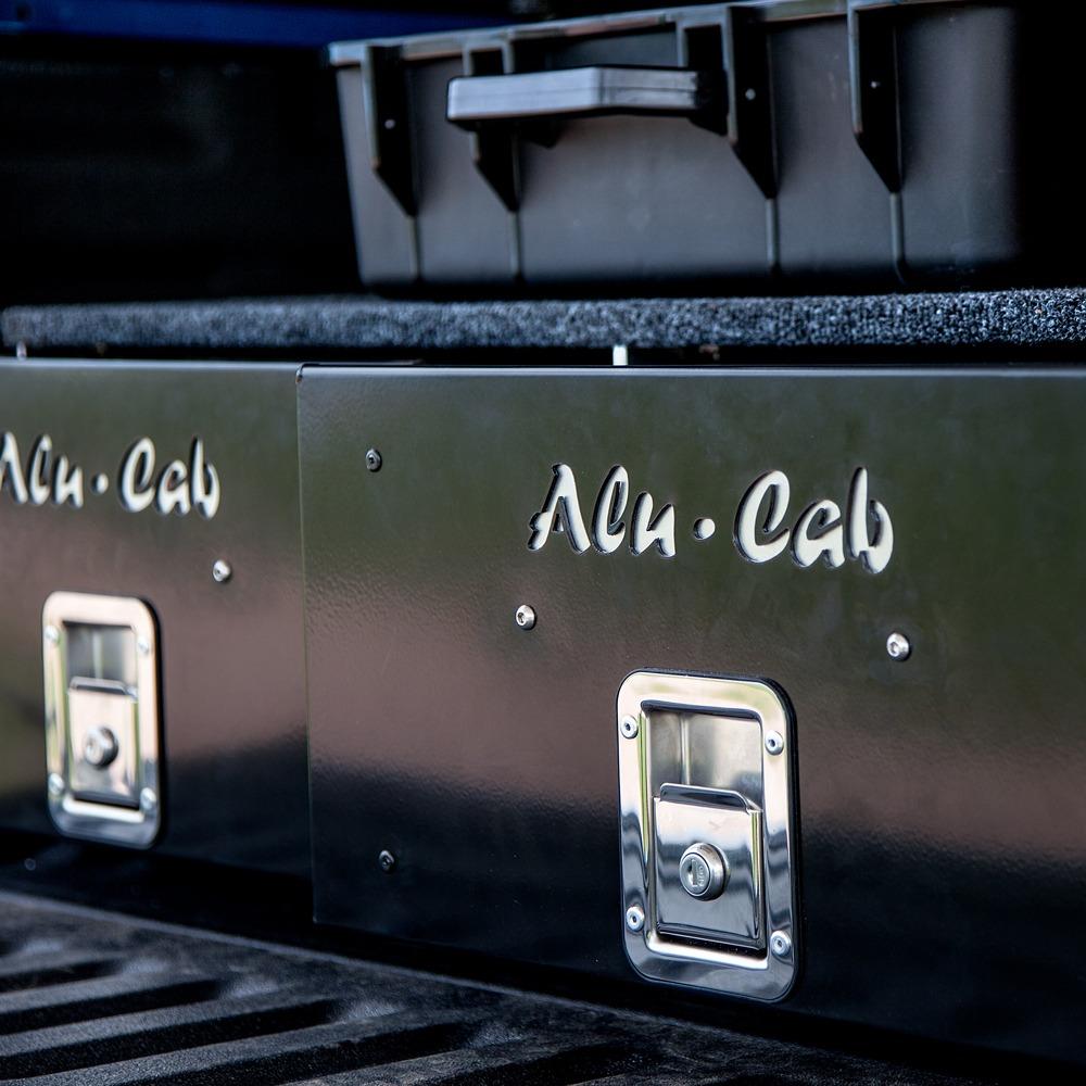 Alu-Cab dobbel skuffeseksjon