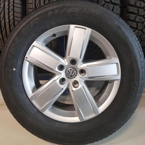 Dekk og felg VW Amarok 255/60R18