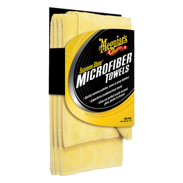 Meguiar's® Supreme Shine™ Microfiber Towel (3 pack)