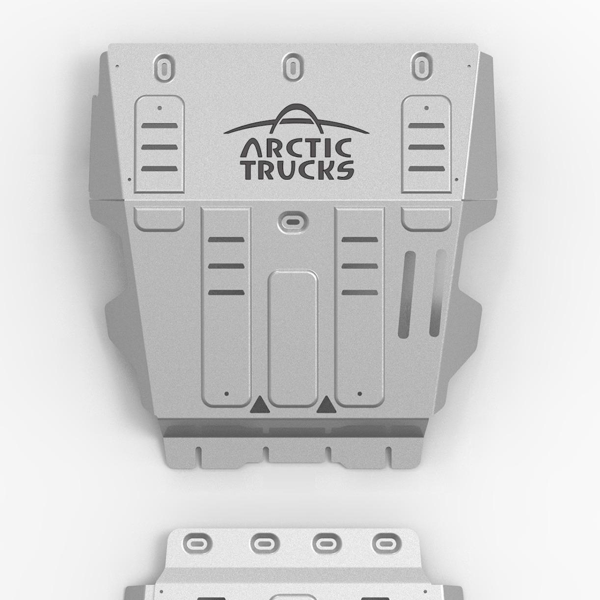 Rival skliplate med Arctic Trucks logo (del1)