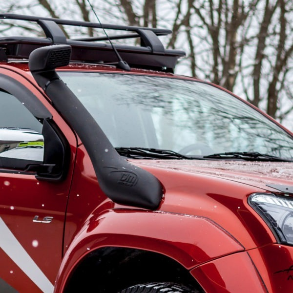 TJM snorkel for Isuzu D-Max