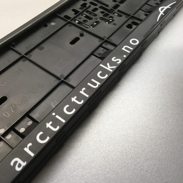 Arctic Trucks skiltplateholder