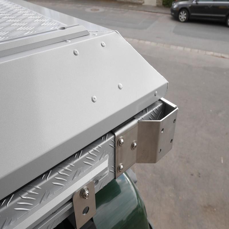 Alu-Cab braketter for awning