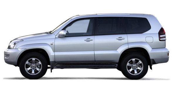 Toyota LandCruiser 120 kun utstyrsmontering